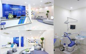Trang trí phòng khám nha khoa