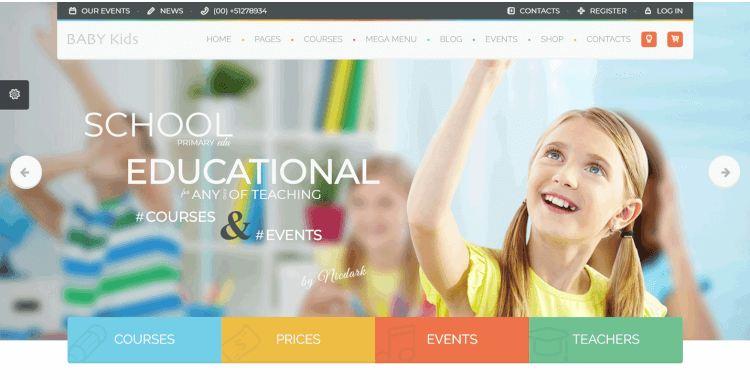 Top 10 mẫu website trường học đẹp nhất