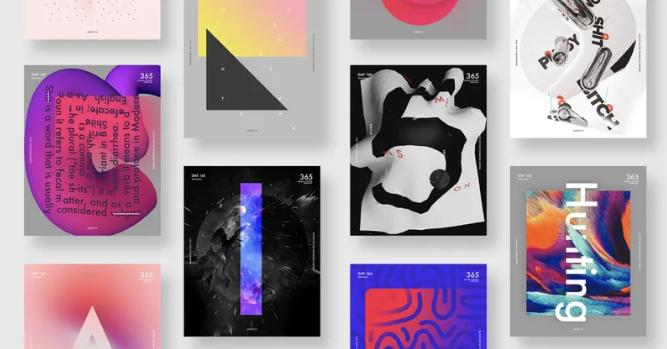 Top 10 xu hướng thiết kế đồ họa mới nhất