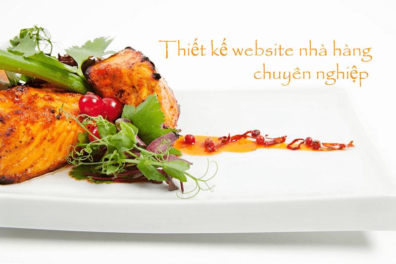 Những tiêu chí cần có của một website nhà hàng