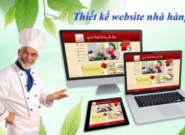 xu hướng thiết kế website nhà hàng