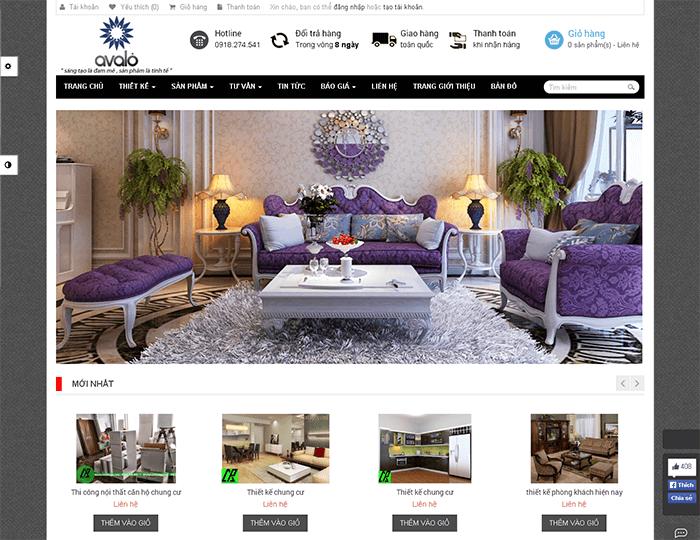 Những lưu ý cần nhớ khi thiết kế website nội thất
