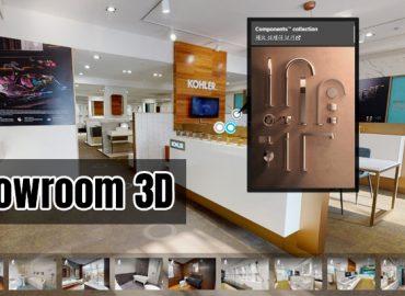 Showroom 3D - Trải nghiệm sản phẩm ngay trên website