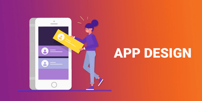 thiết kế giao diện app mobile