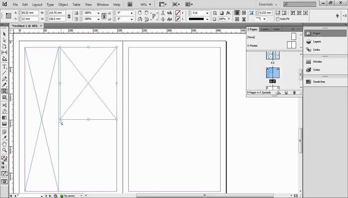 Phần mềm vẽ prototype - Indesign